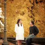 Heather and Brian's Engagement Photographs by Philadelphia Art Museum (c)2011 Georgi Anastasov