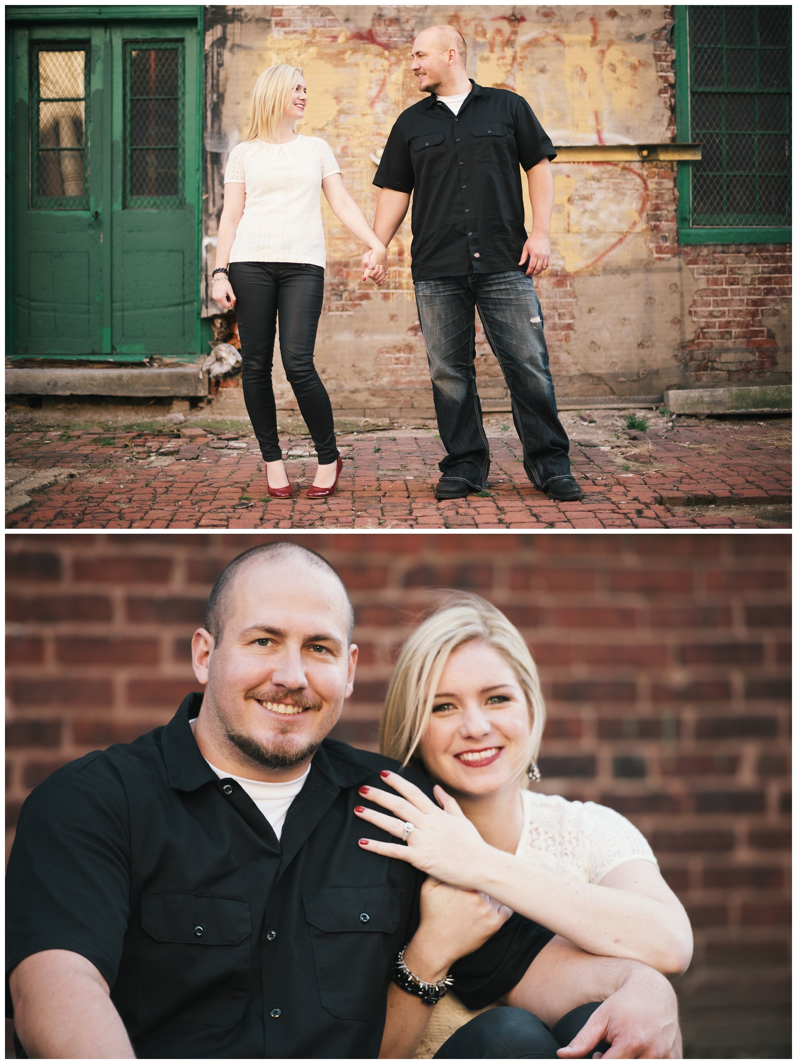 Devon and Josh's Engagement Photo Session, Philadelphia_0014