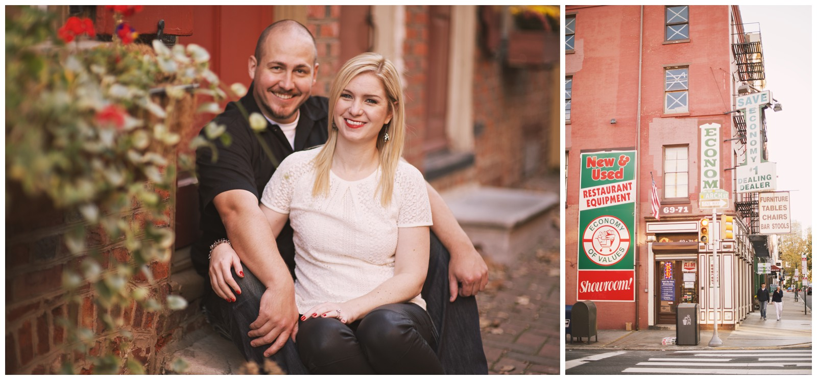 Devon and Josh's Engagement Photo Session, Philadelphia_0023